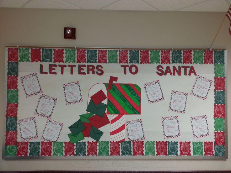 Advent Calendar Bulletin Board : My christmas december bulletin board the kids wrote