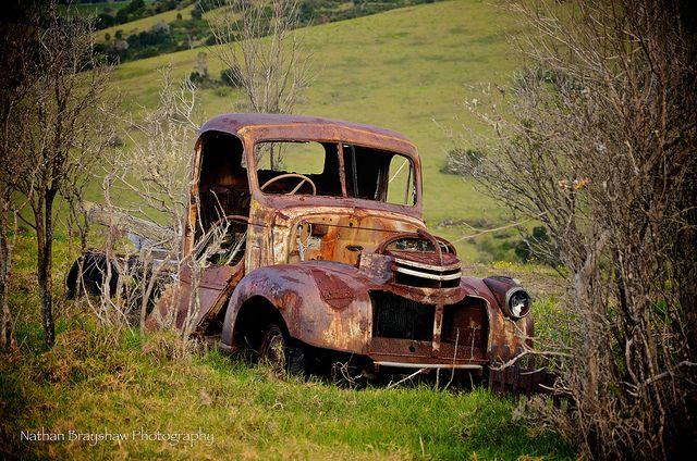 forgotten old trucks   Old Truck   Flickr - Photo Sharing!