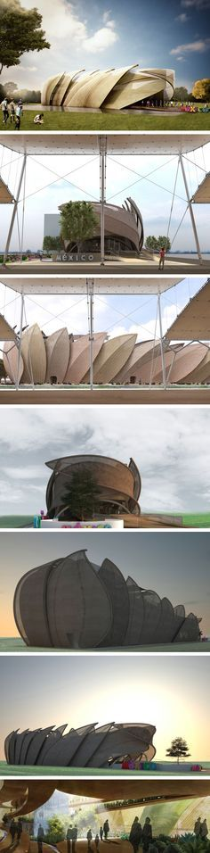 Mexico Pavilion at @Expo2015Milano , 2015 - Loguer Design #expo2015 #mexico #pavilion #architecture