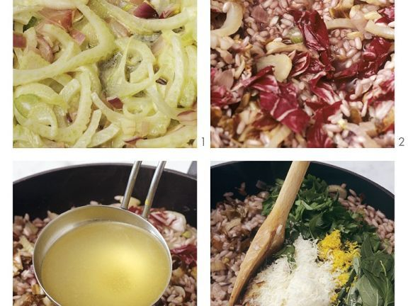 Risotto mit Radicchio und Fenchel zubereiten ist ein Rezept mit frischen Zutaten aus der Kategorie Sprossgemüse. Probieren Sie dieses und weitere Rezepte von EAT SMARTER!