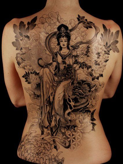 Rinzing, Sacred Yantra Tattoo, Switzerland