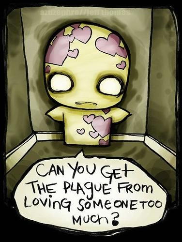 emo love cartoon