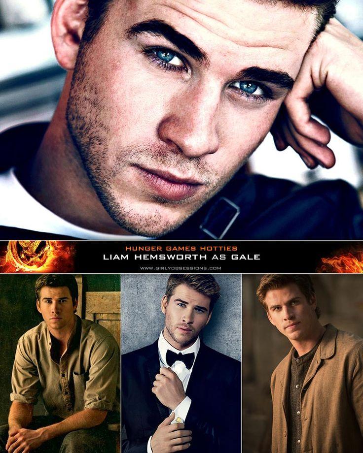 Liam Hemsworth as Gale Hawthorne. #hungergames #catchingfire