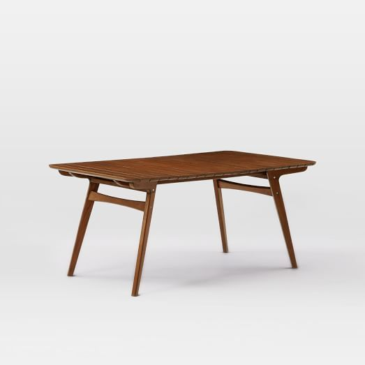 Mid-Century Dining Table - Auburn | West Elm