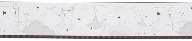 #Frise murale adhésive - #Lilibelle #décoration #stickers #sauthon