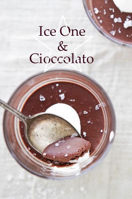 """Piccola ricetta piacevole  cioccolato , panna fresca e sale di """" Guerande """" ovviamente da degustare con il vino del ghiaccio di CASA RONSIL : l' originale = ice one !!!"""