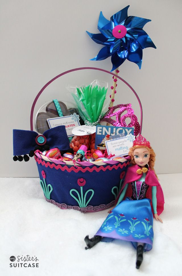 32 best disney themed easter basket ideas images on pinterest anna themed easter basket ideas negle Choice Image