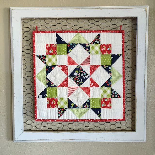 Creative Framing for a Sweet Little Quilt - Quilting Digest