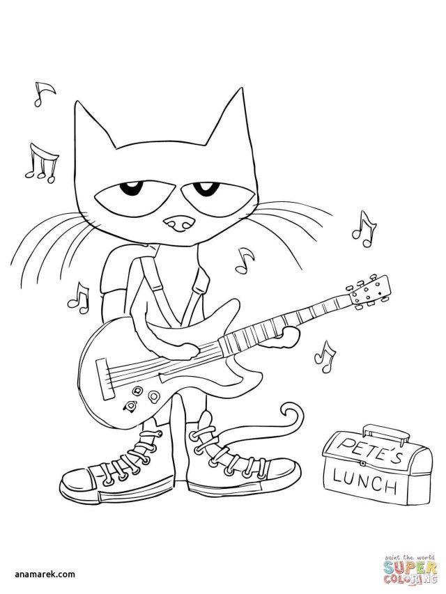 42+ Pete the cat and his four groovy buttons coloring page HD