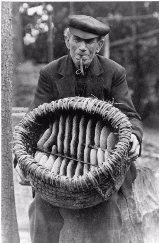 Imker Hij van Laarhoven, 1943 ook wel de Bieman genoemd