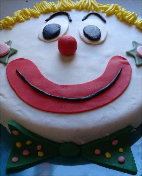 clown pâte à sucre