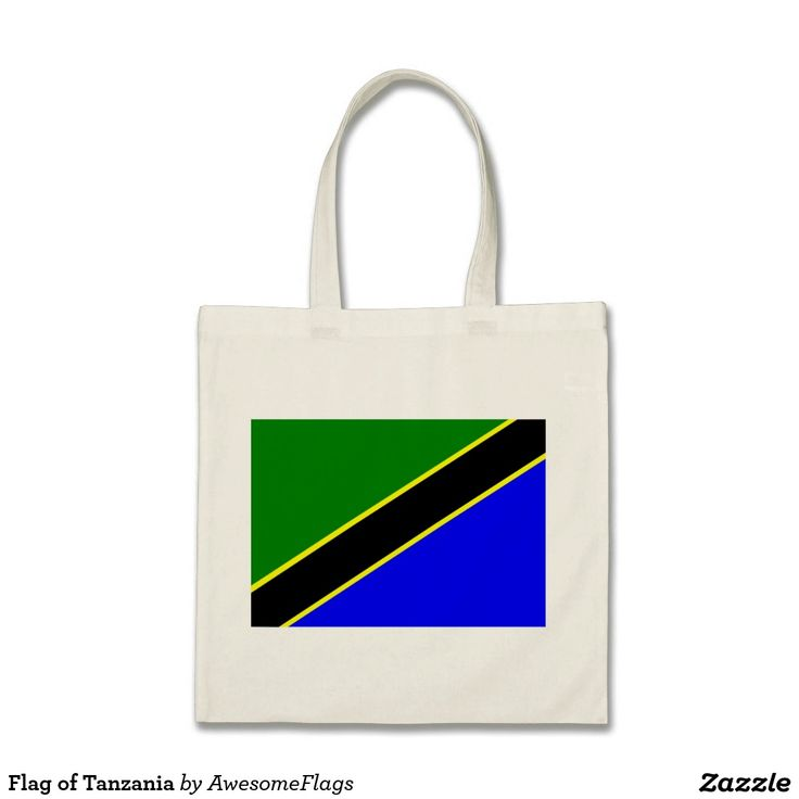 Flag of Tanzania Budget Tote Bag