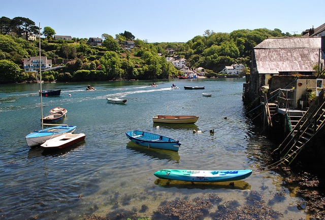 The River Fowey opposite Bodinnick by Baz Richardson, via Flickr