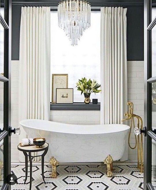 This Glam Bathroom Lets You Relax in Style   House Beautiful June 2016 Bath  of the Month by SuzAnn Kletzein in Wicker Park  Chicago378 best  Bathrooms  images on Pinterest   Bathroom ideas  Room  . In The Bathroom. Home Design Ideas