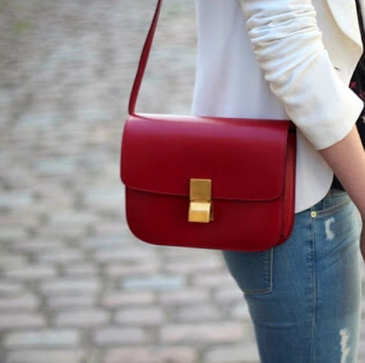 The Celine Box Bag is an elegant classic and celebrity favorite.