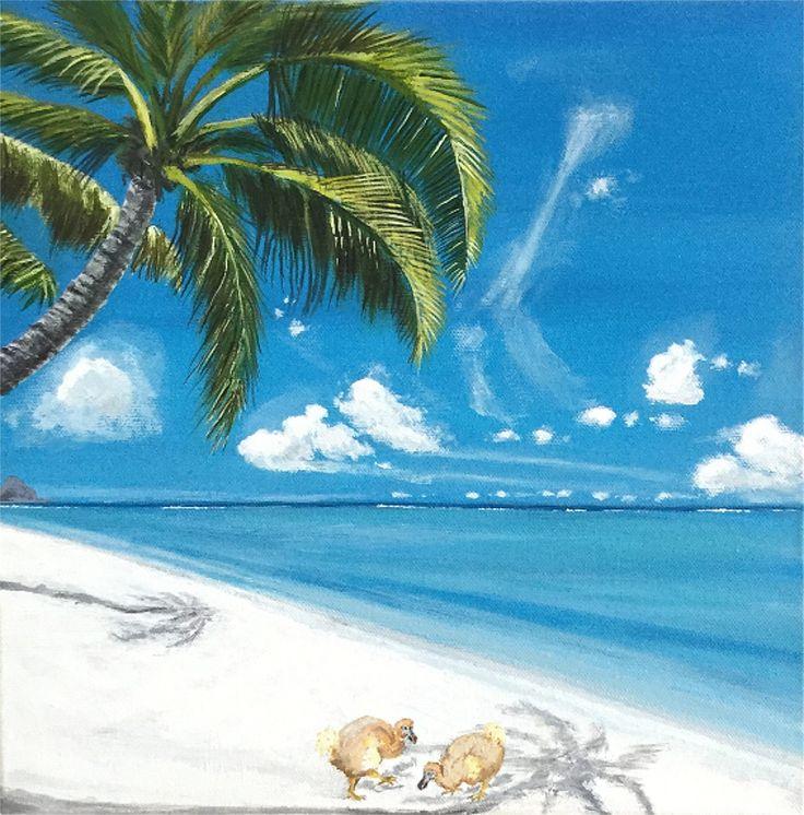 Dodos on the beach