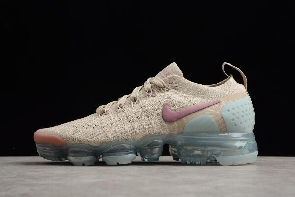 finest selection 04356 51c45 Womens Nike Air Vapormax Flyknit 2. 0 Particle Beige Somkey ...