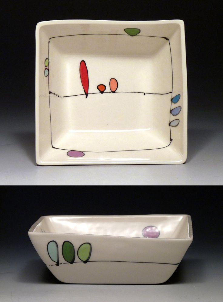 Square Dip Dish