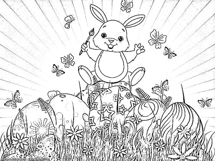 185 best images about clipart bunnies and easter on