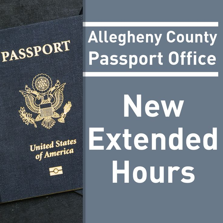 The County Passport Office is now open 9 am-4 pm on Saturdays through October. The office is located on the first floor of the City-County Building at 414 Grant Street, Downtown. No appointment is necessary! Passport services are available to all U.S. citizens, regardless of county or state of residence. For more information and to start the passport application process, go to http://www.alleghenycounty.us/passport