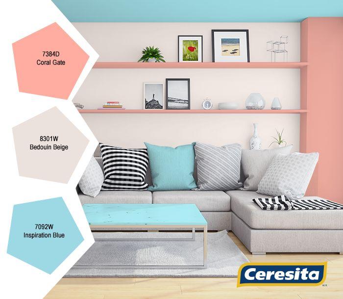 Has guardado en Living  #Living #deco #decoración #Ceresita #CeresitaCL #PinturasCeresita #colores #espacio #ambiente #pinturas *Códigos de color sólo para uso referencial. Los colores podrían lucir diferentes, según calibrado de su monitor.