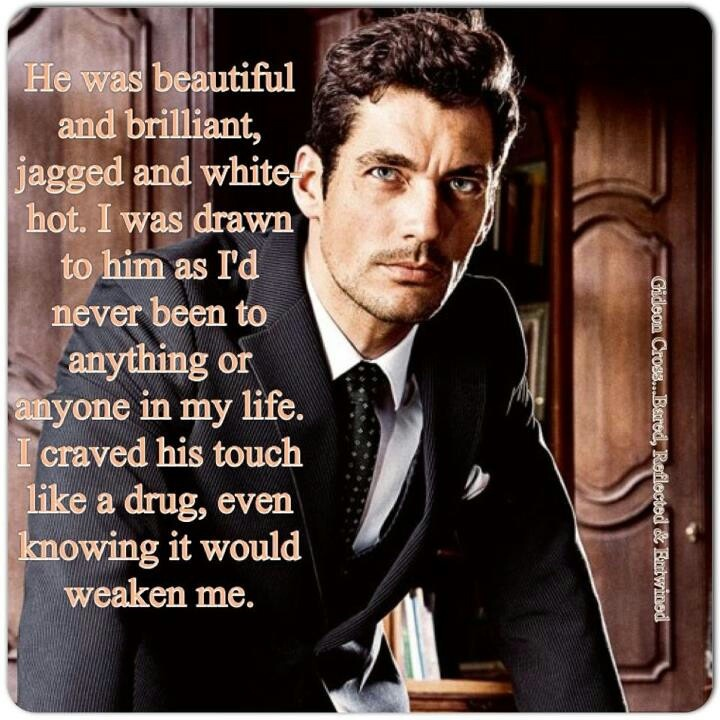 Eva's impression of Gideon Cross. Pictured David James Gandy the perfect Gideon Cross (The Crossfire Series)