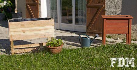 2 techniques différentes pour réaliser une jardinière
