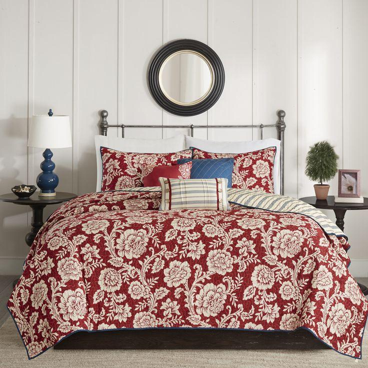 Cheshire 6 Piece Reversible Coverlet Set Comforter Sets Bedding Sets Coverlet Set