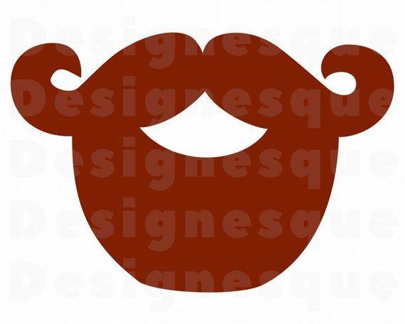 Red Beard Svg Red Beard Clipart Red Beard Files For Cricut Etsy Beard Clipart Beard Art Beard Illustration