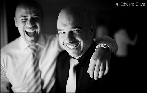 Guys in wedding party - Edward Olive fotografo de bodas - destination wedding photographer for the more discerning bride