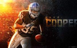 WALLPAPERS HD: Amari Cooper Oakland Raiders NFL