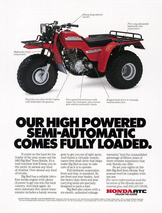 Client: Honda Motorcycles Agency: Dailey & Associates