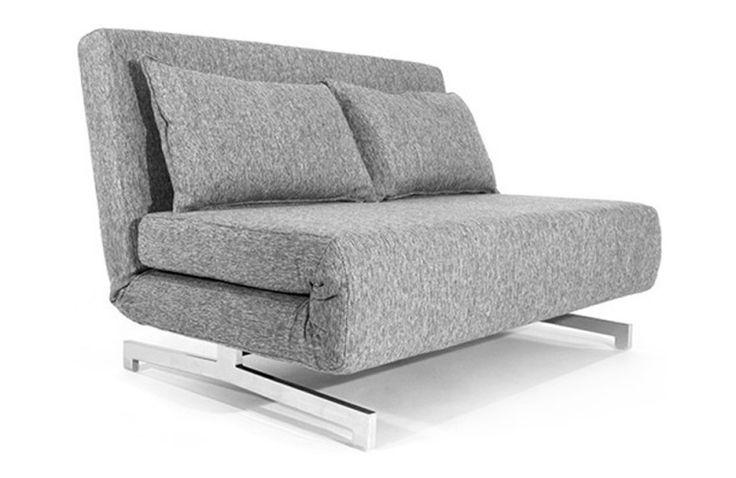 Canapé Convertible Design Stockholm Gris 120 cm - Mobilier SoDezign - principale