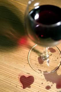 I love wine.