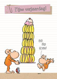 Fijne verjaardag!  #Hallmark #HallmarkNL #leendertjanvis #wenskaart