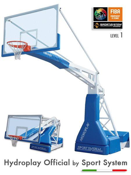 Fiba Onaylı Basketbol Potası Uluslar Arası Basketbol Yarışmaları İçin (FIBA)Onaylanmış Basketbol Potasıdır. Vernikli Çelik Yapı Manuel Hidrolik Kaldıraçlı Parkede İz bırakmayan 4 tekerlekli  Ön Tekerlekleri Sabit Arka Tekerlekler Gezer Kafa Hidrolik Çember Fileleri Dahil  24 Saniye Panosu Takılabilir. Fiba Onaylı Pota