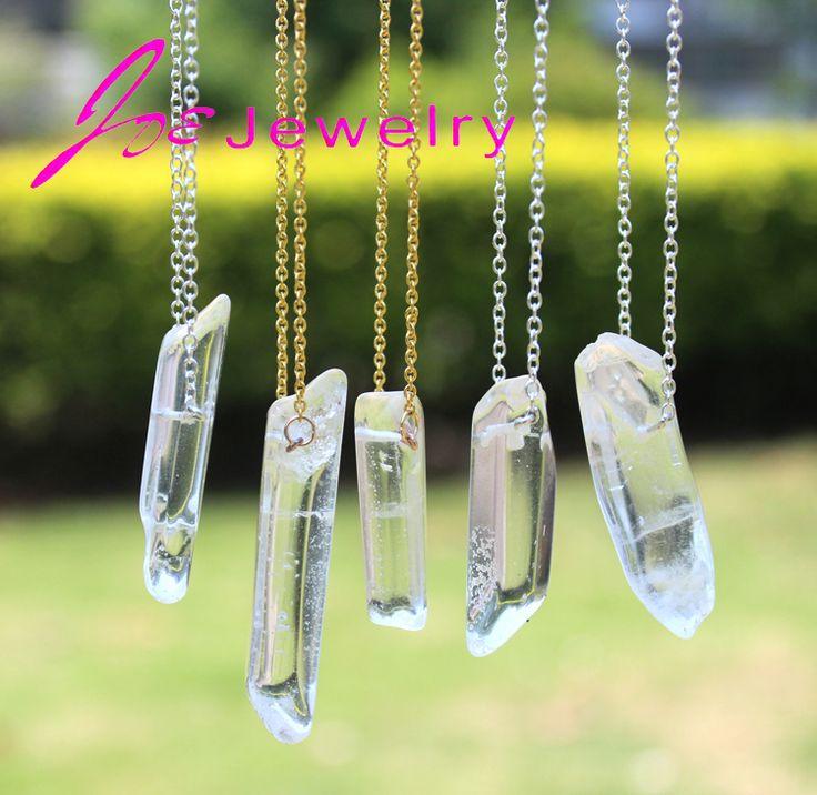 2015 Hot Sale Fashion DIY Quartz Crystal Pendant Necklace Transparent Natural Stone Pendant Necklaces For Women Free Shipping - http://www.aliexpress.com/item/2015-Hot-Sale-Fashion-DIY-Quartz-Crystal-Pendant-Necklace-Transparent-Natural-Stone-Pendant-Necklaces-For-Women-Free-Shipping/32329620885.html