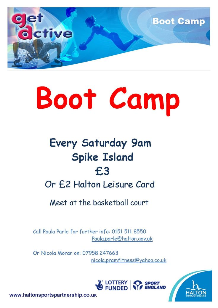 Boot Camp Widnes