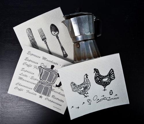 Dishcloths By Kuitukuu Susanna Myllymäki