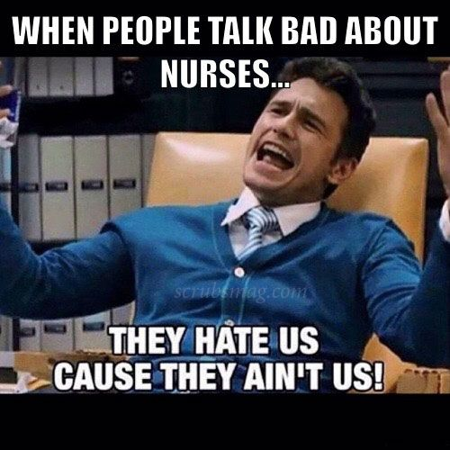 There's no other explanation! #NurseLife