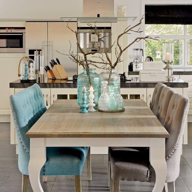 Ławka i krzesła Sandy z kolekcji Hampton - wytworne i ponadczasowe z wpływami najnowszych trendów kolorystycznych na rok 2015
