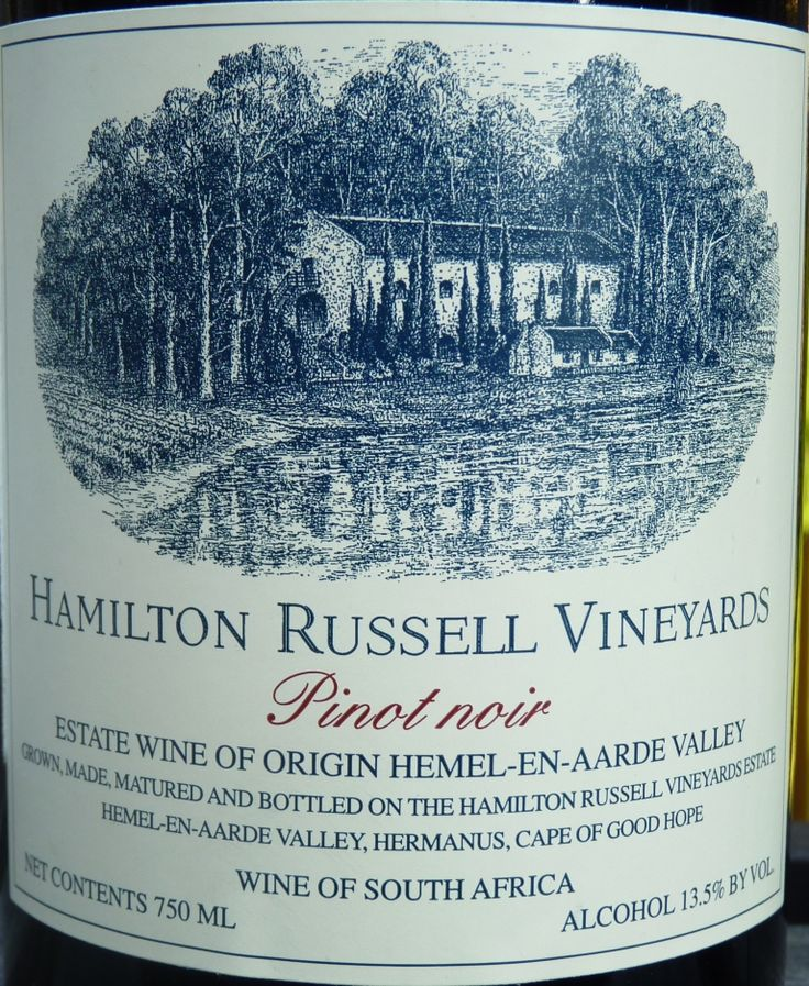 Best Hidden Secrets of The Wine World: Wines of South Africa - #HamiltonRussell Vineyards