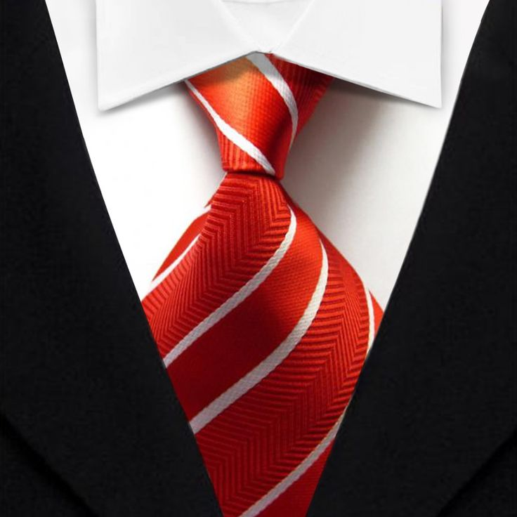 Naranja-rayada-tejida-hombre-corbata-clásico-estilo-del-negocio-Formal-seda-lazo-de-moda-para-hombre.jpg (1000×1000)