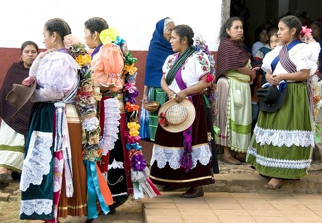 Mujeres de Michoacan, México