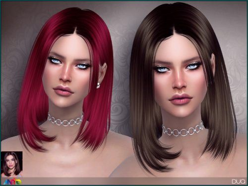 Anto Dua Hair For The Sims 4 Womens Hairstyles Sims