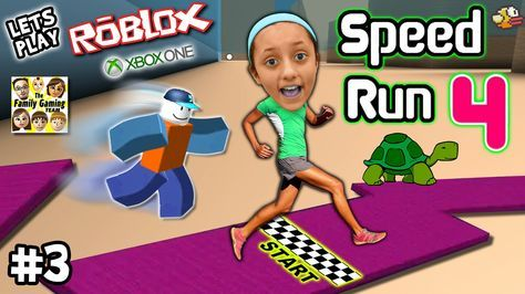 Let's Play ROBLOX #3: SPEED RUN 4 REQUEST w/ Lexi! (FGTEEV Xbox One Gam...
