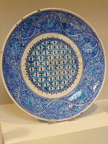 Dish Turkey 16th century CE composite | Mary Harrsch | Flickr