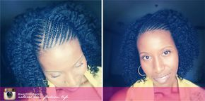 conrows-twistout-braidout- options for the back of hair, sew in, yarn braids, individual braids.