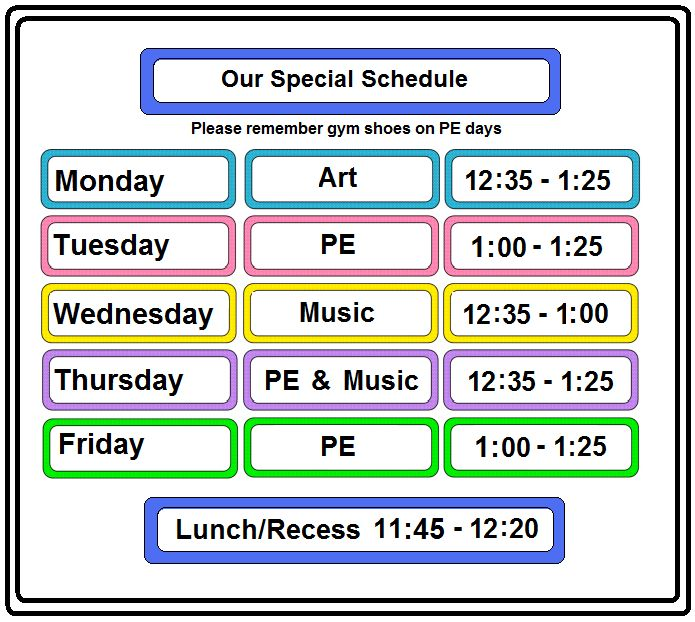 The 25+ best Class schedule template ideas on Pinterest Weekly - school schedule template