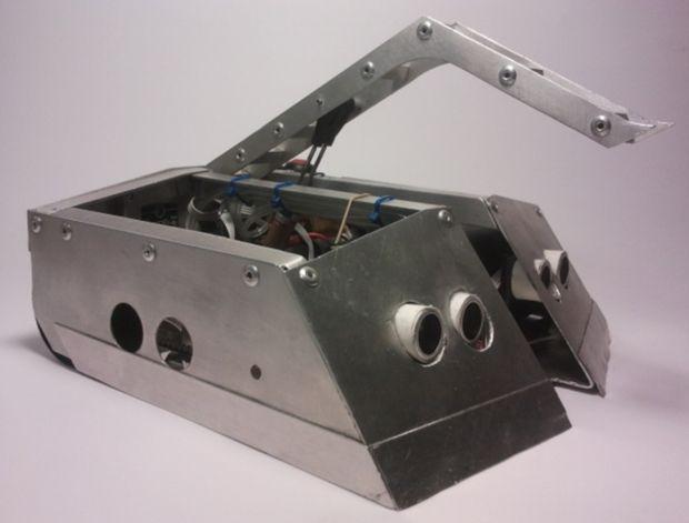 Autonomous Sumo Combat Robot with Pneumatic Flipper - How to